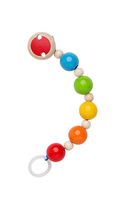 Rotho Babydesign Madera Rainbow Cadena de Chupete: Amazon.es ...