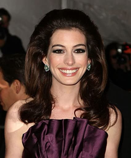 Amazon Com Gabriela 14 X 17 Inch Or 24 X 29 Inch Anne Hathaway The