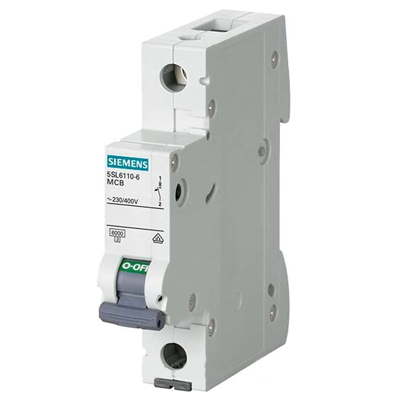 Siemens 5SL6116-6 Miniature Circuit Breaker 6kA 1 Pole B-16A 324873