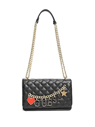 Amazon.com: GUESS Factory Women's Sashaa Quilted Crossbody: Clothing : quilted crossbody - Adamdwight.com