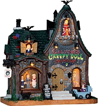 Lemax Halloween Creepy Doll Shop + $5.45 Kmart Credit