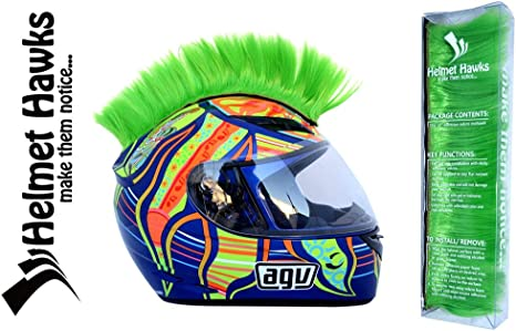 Amazon.com: Casco para motocicleta Helmet Hawks con adhesivo ...