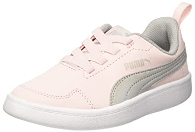 b1ae4c7e04af Puma Unisex s Courtflex Ps Pearl-Gray Violet Running Shoes-1 UK India (33  EU) (36265012)  Buy Online at Low Prices in India - Amazon.in