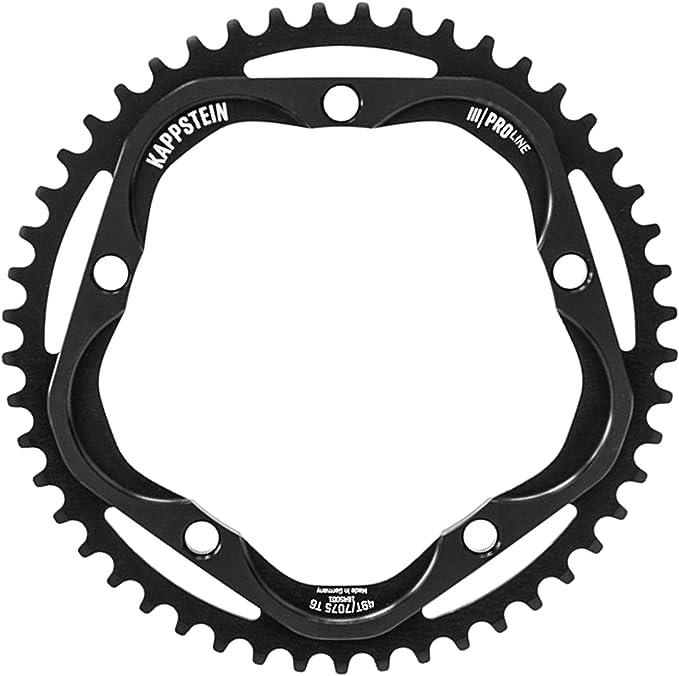 Kappstein Bike Technology Unisex - Plato para Adultos, 52T: Amazon ...