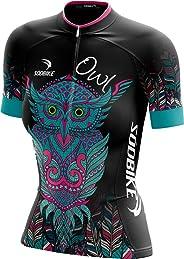 Camisa Ciclismo Sódbike Coruja Feminina