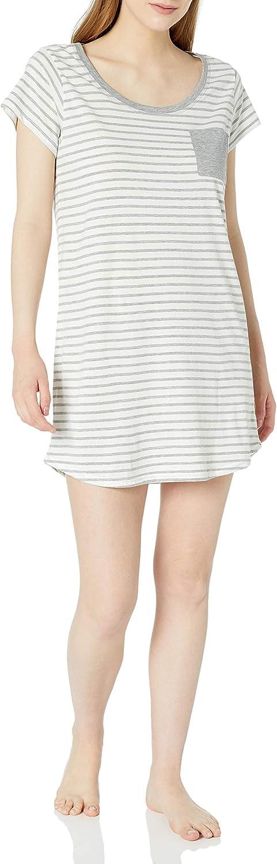 Amazon Brand - Mae Women's Sleepwear Pocket Nightgown