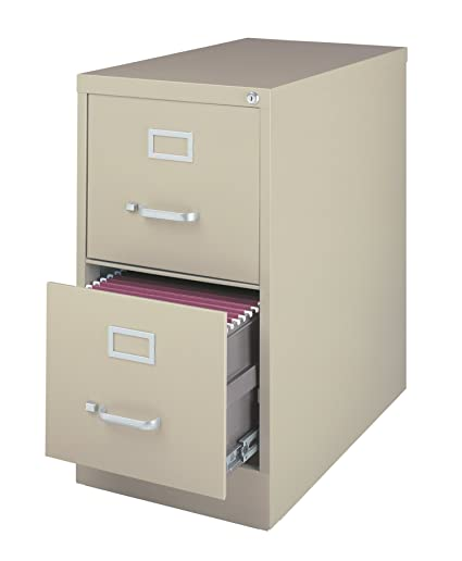Amazon Com Office Dimensions Commercial Grade 25 Deep 2 Drawer