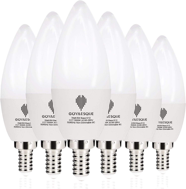 Amazon.com: Bombillas de filamento LED C35 Candelabra de 4 W ...