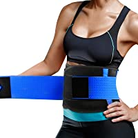 Cintura Entrenador, Fajas Reductoras Adelgazantes, Respirable Ajustable Cintura Belt Bodyshaper Cinturón para Hourglass…