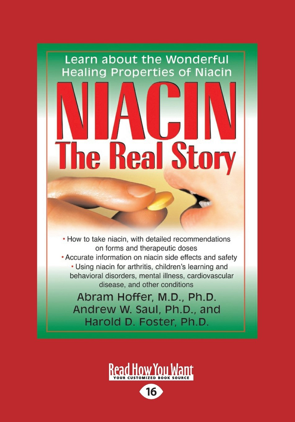 Download Niacin: The Real Story ebook