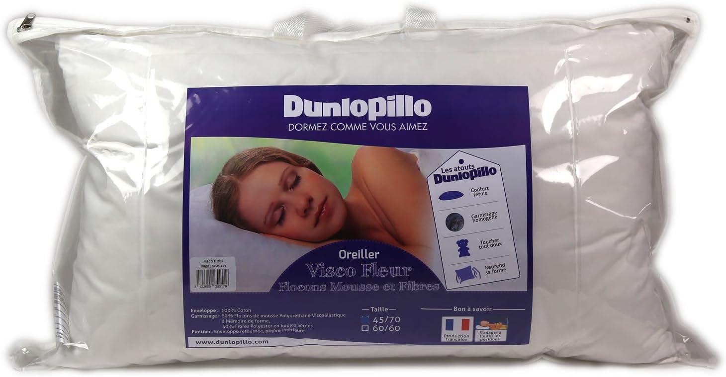 Dunlopillo ORMMO6N045070DPO - Almohada (45 x 70 cm), Color Blanco
