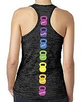 SoRock Women's Multi Colored KettleBell Tank Top