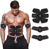 Elettrostimolatore, Esther Beauty Muscolare Trainer EMS Stimolatore Muscolare Abs Trainer fascia per addominali fitness apparecchio per uomo donna