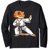 Lizard Karate Bearded Dragon Owners Bearded Dragon Karate Long Sleeve T-Shirt