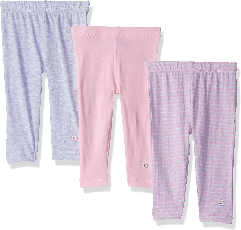 Limited Too Girls 3 Pack Ankle Length Knit Leggings Set