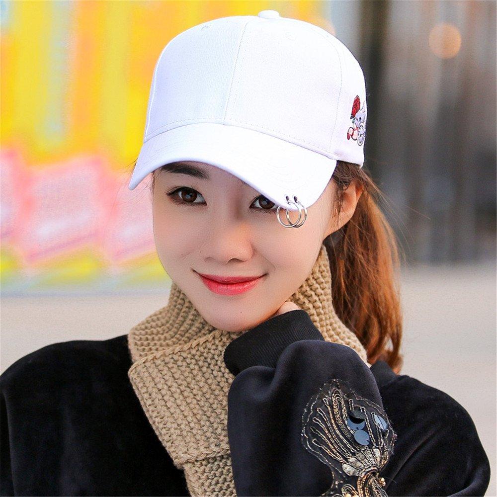 La personalidad de la mujer amantes de la moda femenina Gorra Hat Winter men's casual todos-match ot...