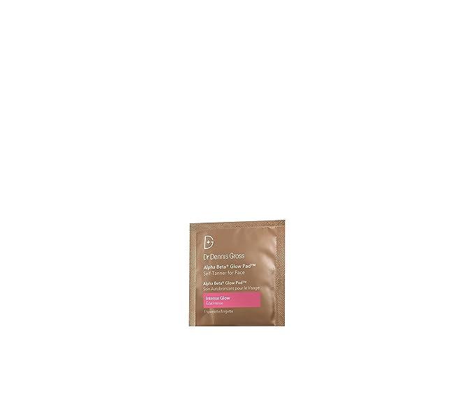 Dr. Dennis Bruto Skincare Alfa Beta resplandor Pad Rostro - 20 paquetitos: Amazon.es: Belleza