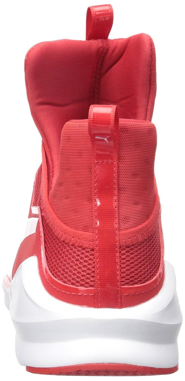 PUMA Women's Fierce Core Cross-Trainer Shoe B01BOUGIP0 6.5 B(M) US|High Risk Red/Puma White
