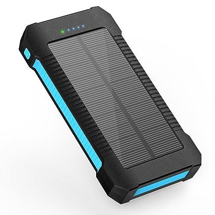 Amazon.com: Cargador Solar Portátil Power Bank más Ligero ...