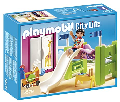 Amazon.com: PLAYMOBIL Boy and Girl Room: Toys & Games