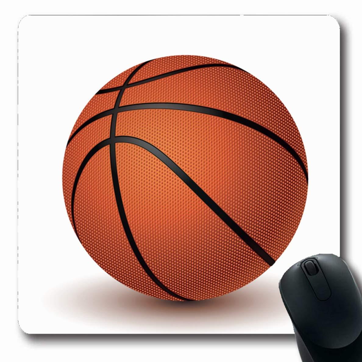 Alfombra de baloncesto Naranja Oblonada Actividad En Blanco ...
