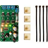 Galak Electronics Traffic Light Controller/Sequencer 85VAC-265VAC, 30+ Sequences, Complete Installation Kit - Made in The USA