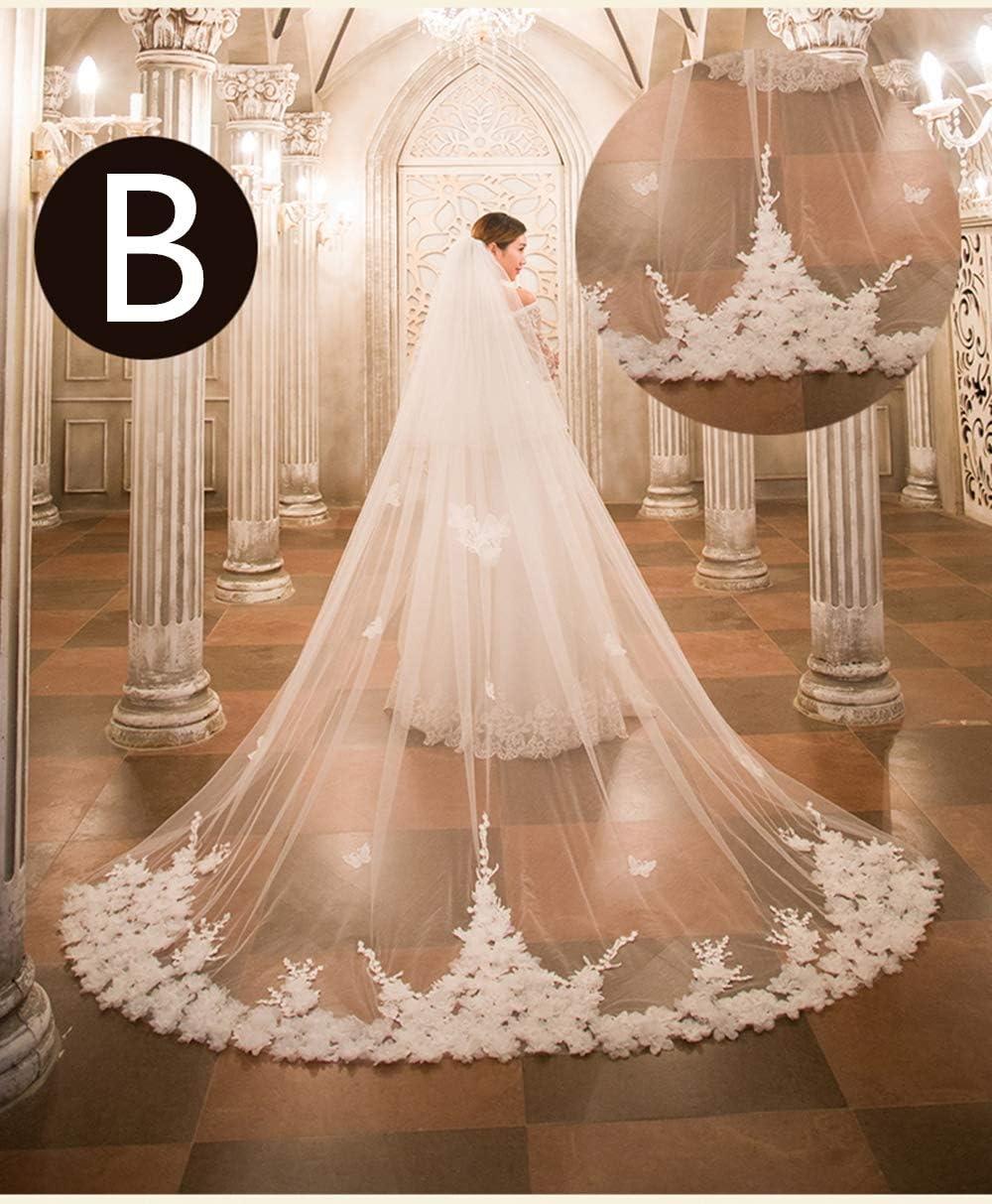 Little Poor 15 Arten Brautschleier 15M Hochzeitskleid Hochzeit