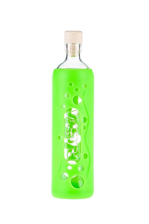 Flaska Botella de agua reutilizable de vidrio - Grip Hiedra mutante 0.5l: Amazon.es: Hogar