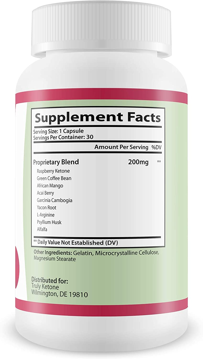 Amazon Com Truly Raspberry Ketones Capsules All Natural Weight Loss Supplement Max Strength Plus Appetite Suppressant Diet Pills Premium Lean Health Extract To Boost Energy Metabolism Health Personal Care
