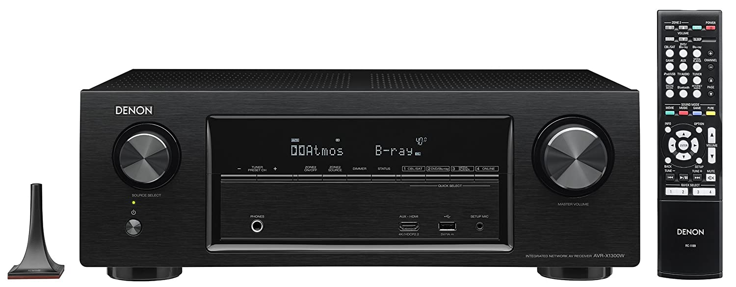 Receiver Denon amazon