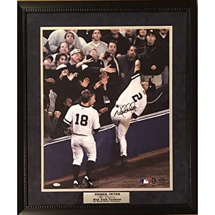 42103260469 Image Unavailable. Image not available for. Color  Derek Jeter Autographed  ...