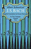 J. S. Bach, Volume Two: 002 (Dover Books on Music)