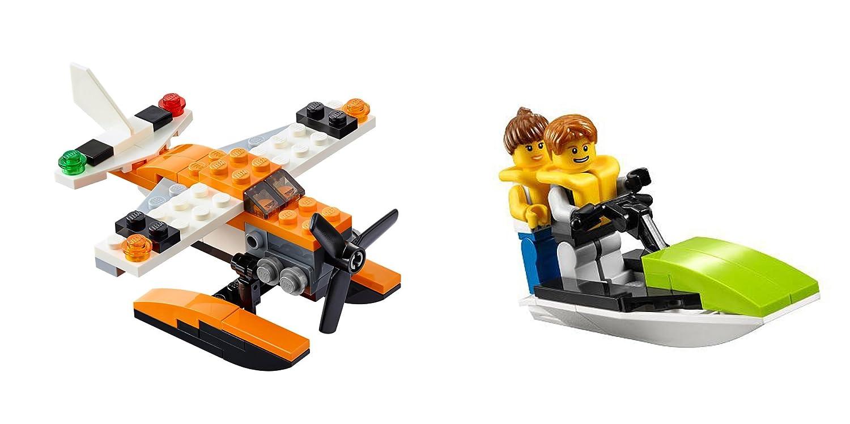 Amazon.com: LEGO Sea Adventures 2 Set Bundle - Creator 3-in-1 Sea ...