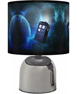 Doctor who tardis table lamp amazon toys games dr who bedside touch lamp boys bedroom light lamp shade mains operated mozeypictures Gallery
