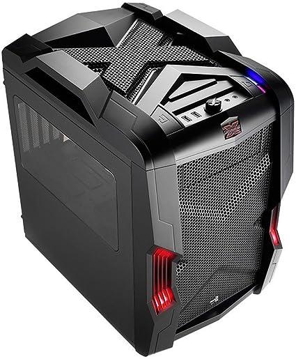 Aerocool STRIKEXCUBEBK - Caja Gaming para PC (ATX, Ventilador con ...