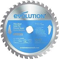 Evolution Power Tools–acero 7bladets evolución 180mm hoja