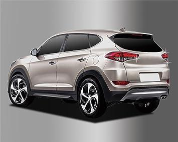 Amazon.es: Para Hyundai Tucson 2015 + cromo luz trasera juego de tapacubos (4 unidades)