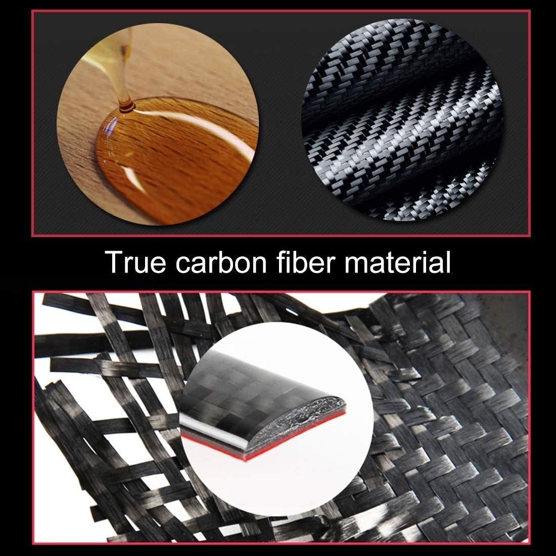 4 PCS Carbon-Faser-Auto-T/ürgriff Rahmen dekorative Aufkleber for Porsche Macan Zubeh/ör WYJBD Auto Dekoration Aufkleber