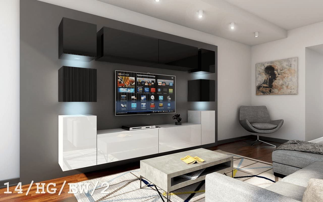 FUTURE 14 Moderno Conjunto De Muebles De Salón, Exclusivo Centro ...