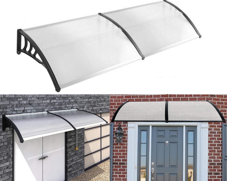 transparente policarbonato Pultvordach cubierta 5 mm Marquesina para puerta UISEBRT