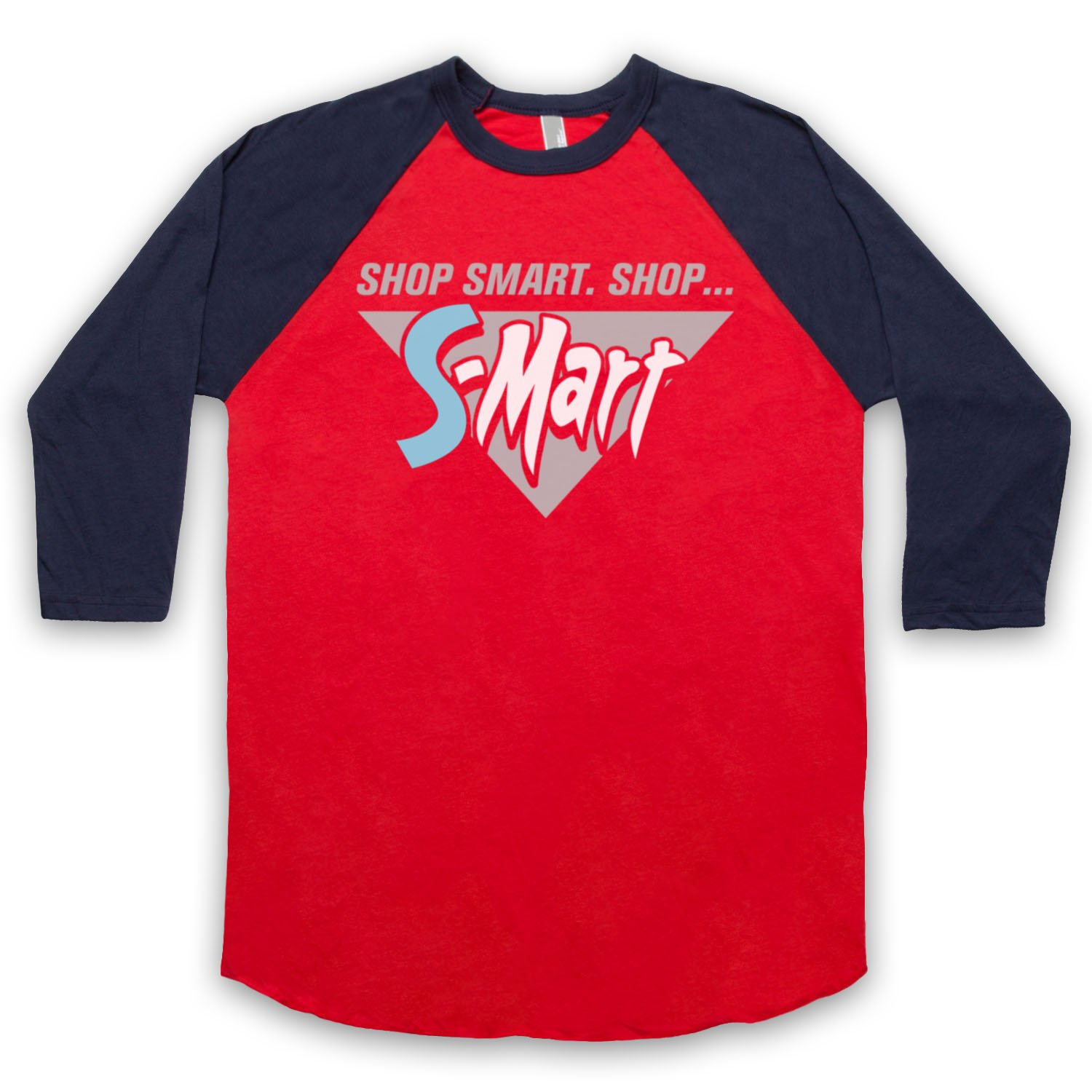 Inspired by Army Of Darkness S-Mart Unofficial 3/4 Sleeve Retro Baseball Tee