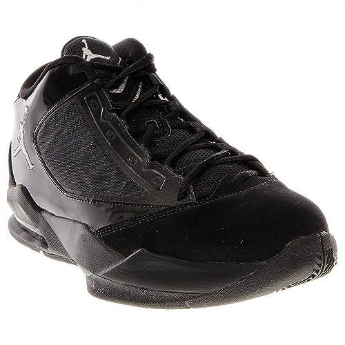 quality design 459d1 ed7db Nike Air Jordan Flight The Power - Black Metallic Silver-White, 10.5 D