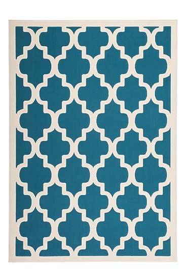 Teppich Wohnzimmer modern Carpet geometrisches Design RUG Manolya ...