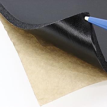 Phil de Trade® 50 x 80 cm Espuma acústica aislante Matte Negro Acuario Base 9,5 mm, autoadhesivos: Amazon.es: Coche y moto
