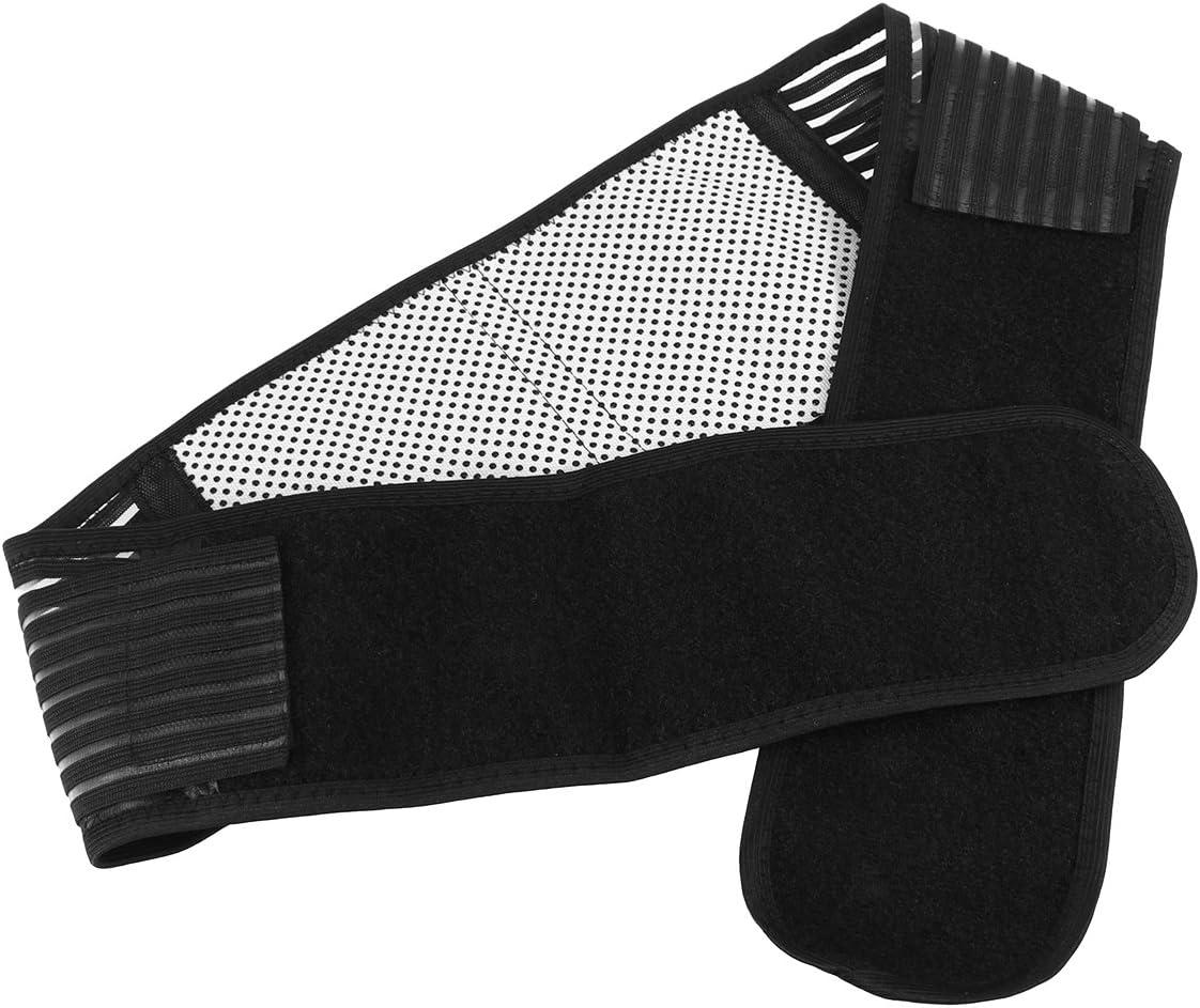SUPVOX Terapia magnética auto calefacción apoyo apoyo ajustable alivio del dolor espalda cintura soporte lumbar apoyo cinturón