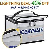 HOBBYMATE Lipo Battery Safe Bag Fireproof - for Lipo Battery Charging, Lipo Battery Storage