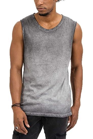 trueprodigy Casual Homme Debardeur Tee Shirt uni Basique 2e46fe2e0b0