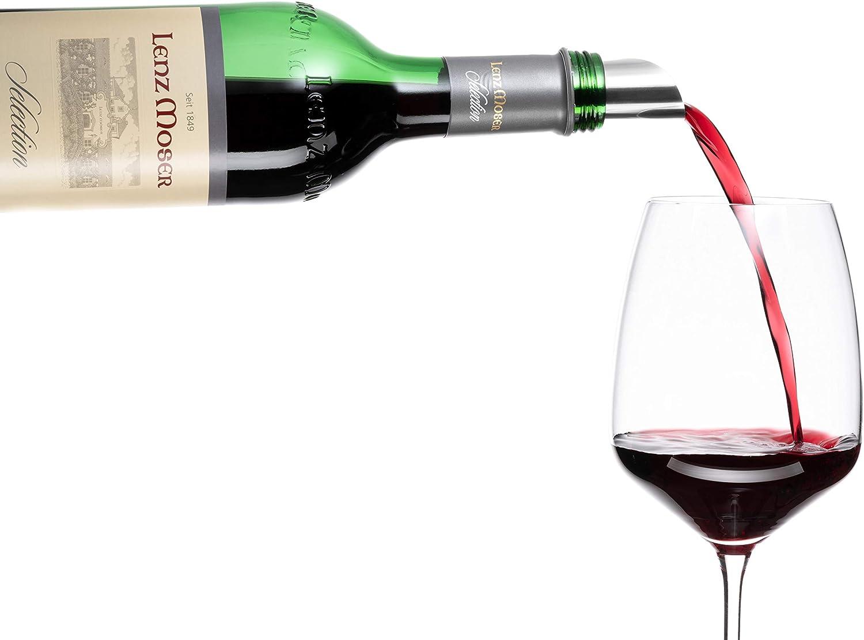Einschenkhilfe für tropffreies Einschenken Pentaton Wein Ausgießer 3 3