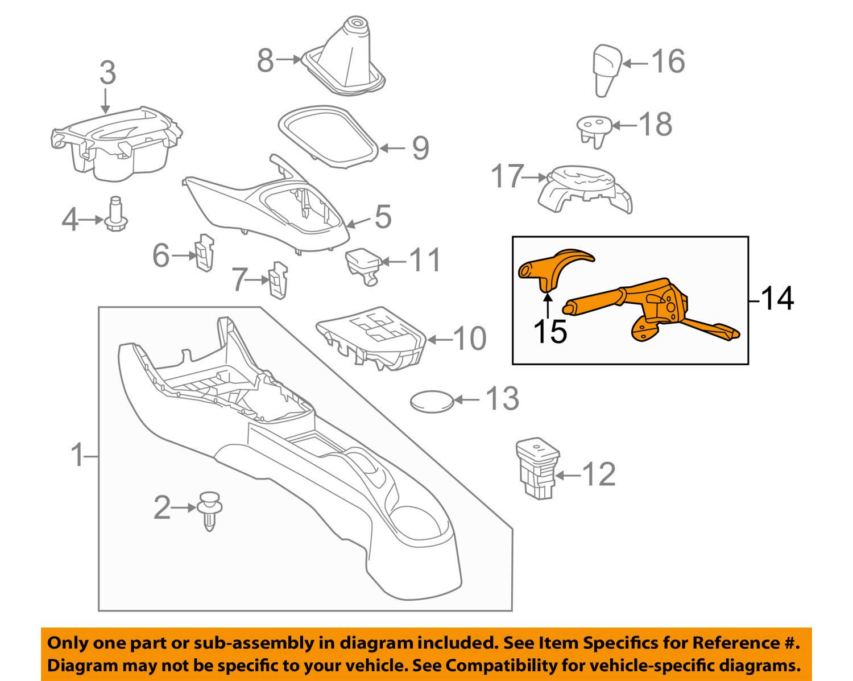 Genuine Toyota 46201-52160-C2 Parking Brake Lever Sub Assembly