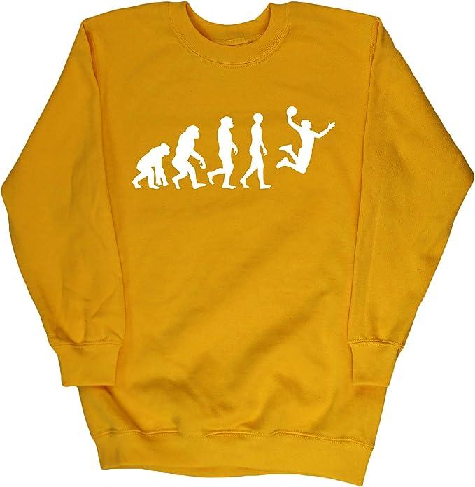 Hippowarehouse Evolución del Baloncesto Jersey Sudadera suéter ...